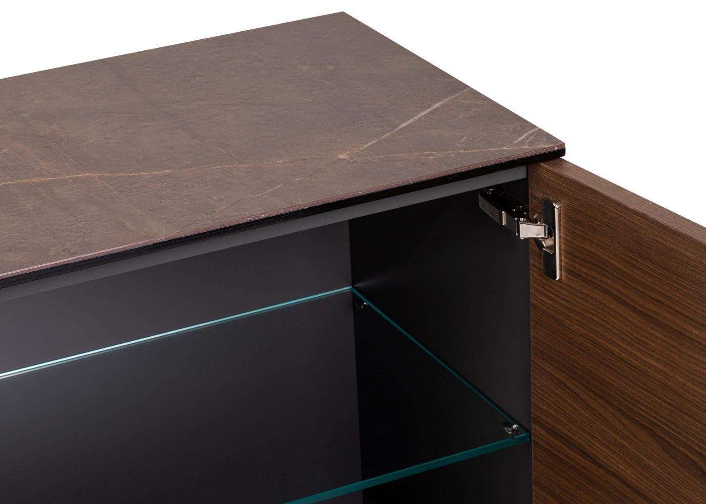 As Shown: Massa Sideboard Adjustable Shelf