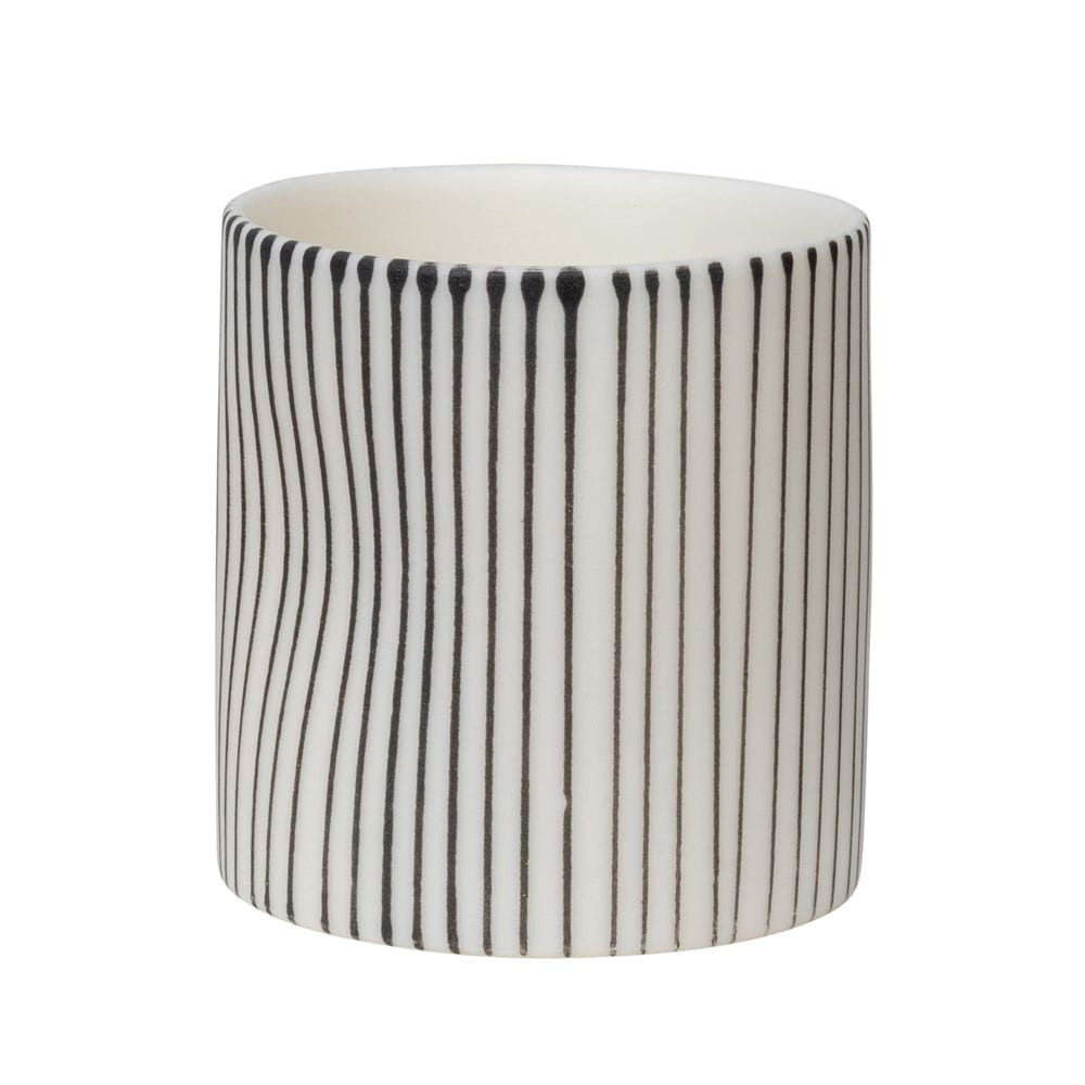 Lined Mini Cup White
