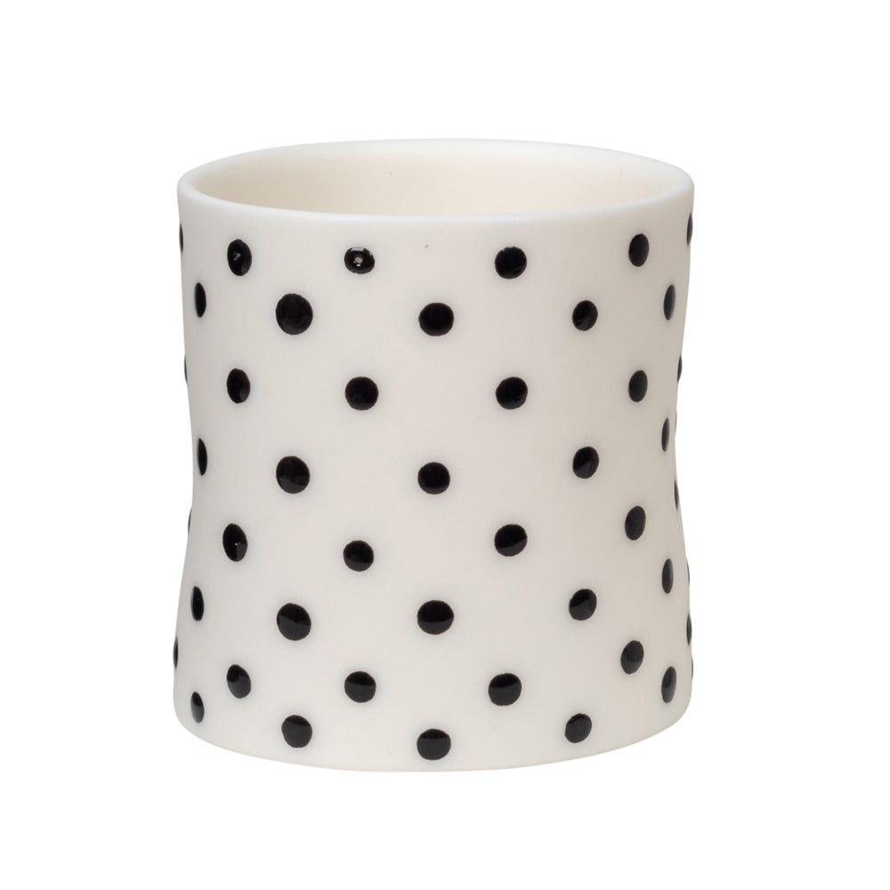 Spots Mini Cup White
