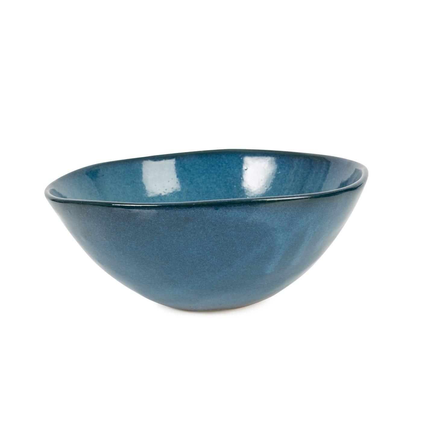 Sapphire Glaze Medium Bowl