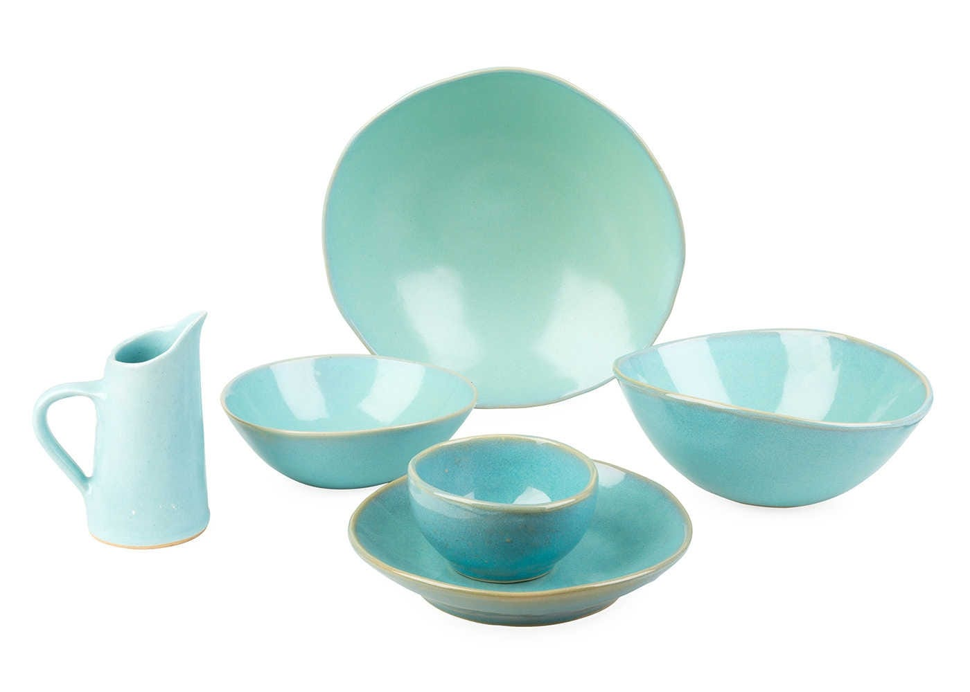 Teal Glaze Dinnerware