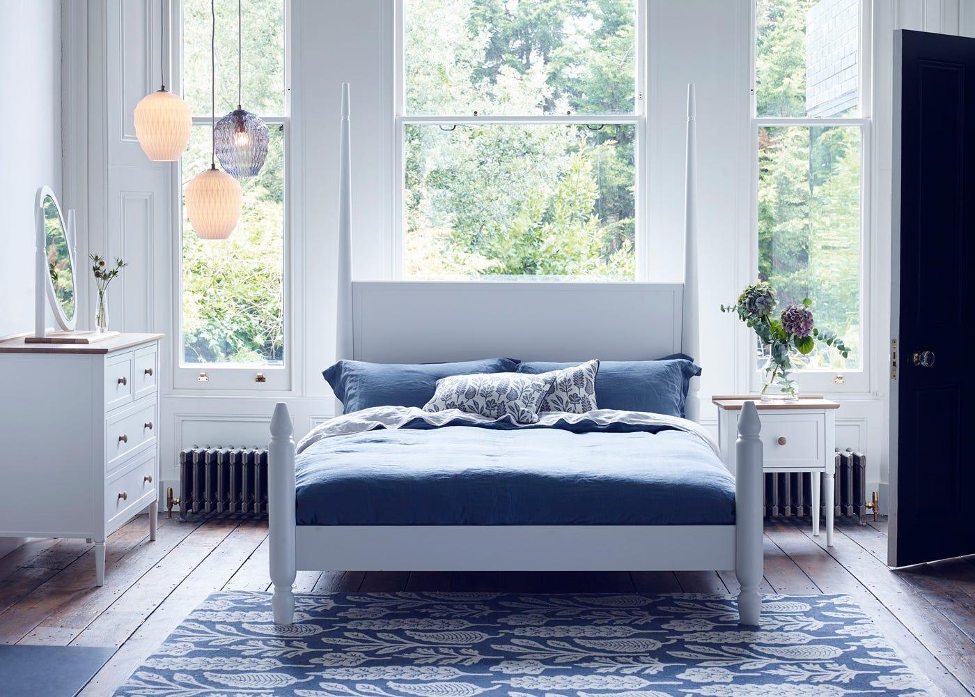 Pinner Bed Flint White1