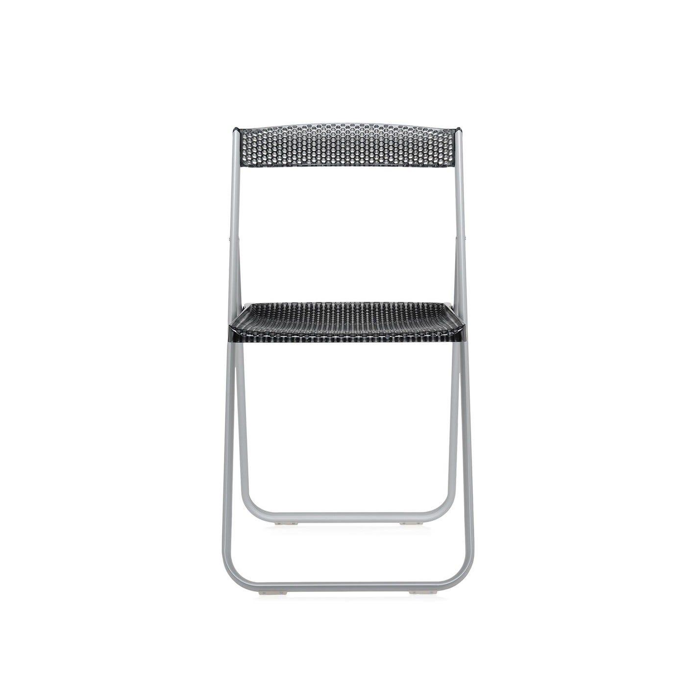 Miraculous Honeycomb Folding Chair Smoke Grey Alumin Pdpeps Interior Chair Design Pdpepsorg