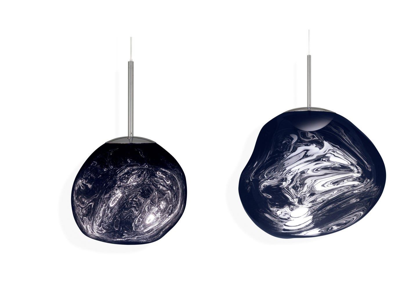 From left to right: Smoke mini LED light on, Smoke standard LED light on