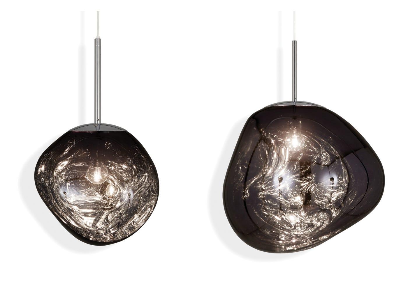 From left to right: Smoke mini light on, Smoke standard light on