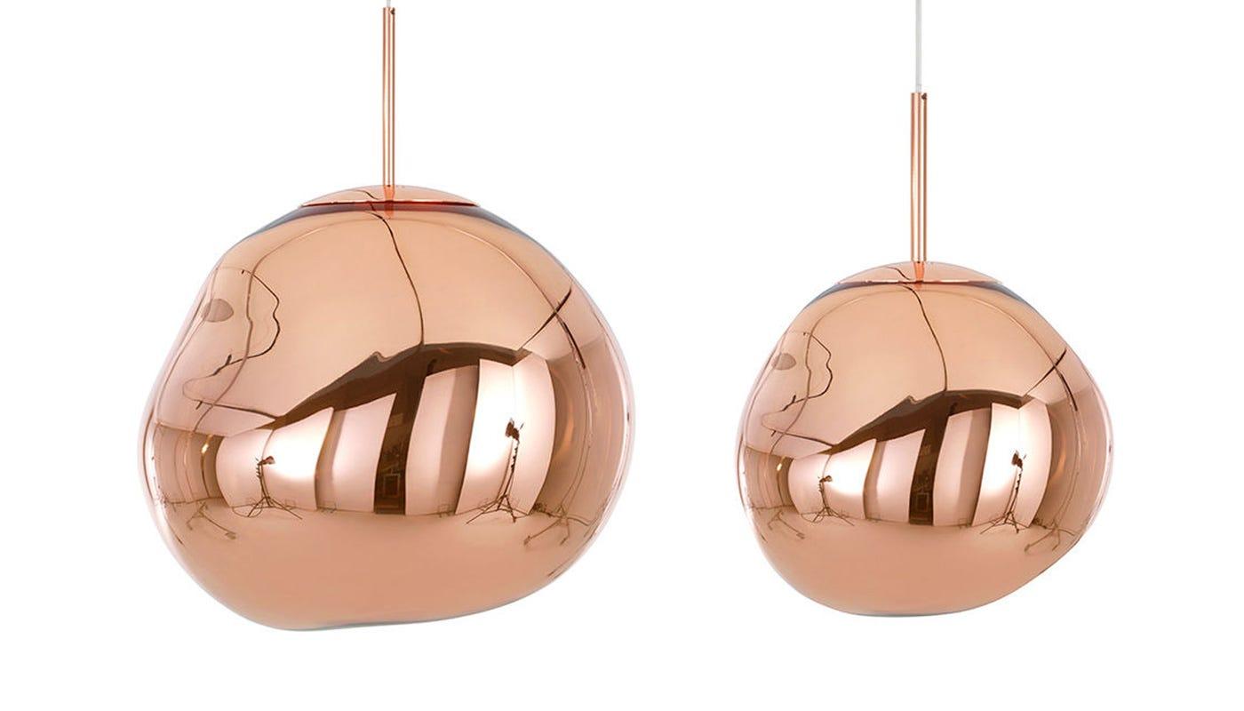 From left to right: Copper standard off, copper mini off
