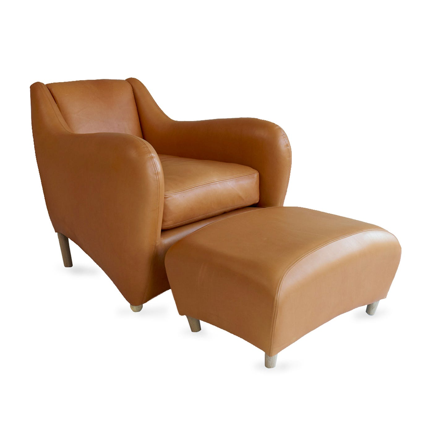 Balzac Armchair & Footstool