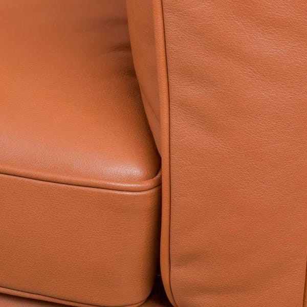 Upholstered in a variety of buttery soft leathers.