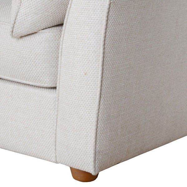 Sturdy solid beech frame upholstered in a variety of Heal's fabrics