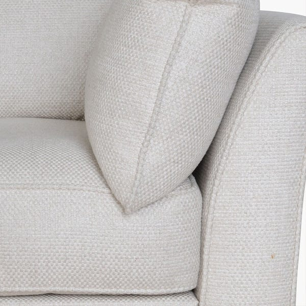 Sumptuous cushions create the perfect sofa to relax into