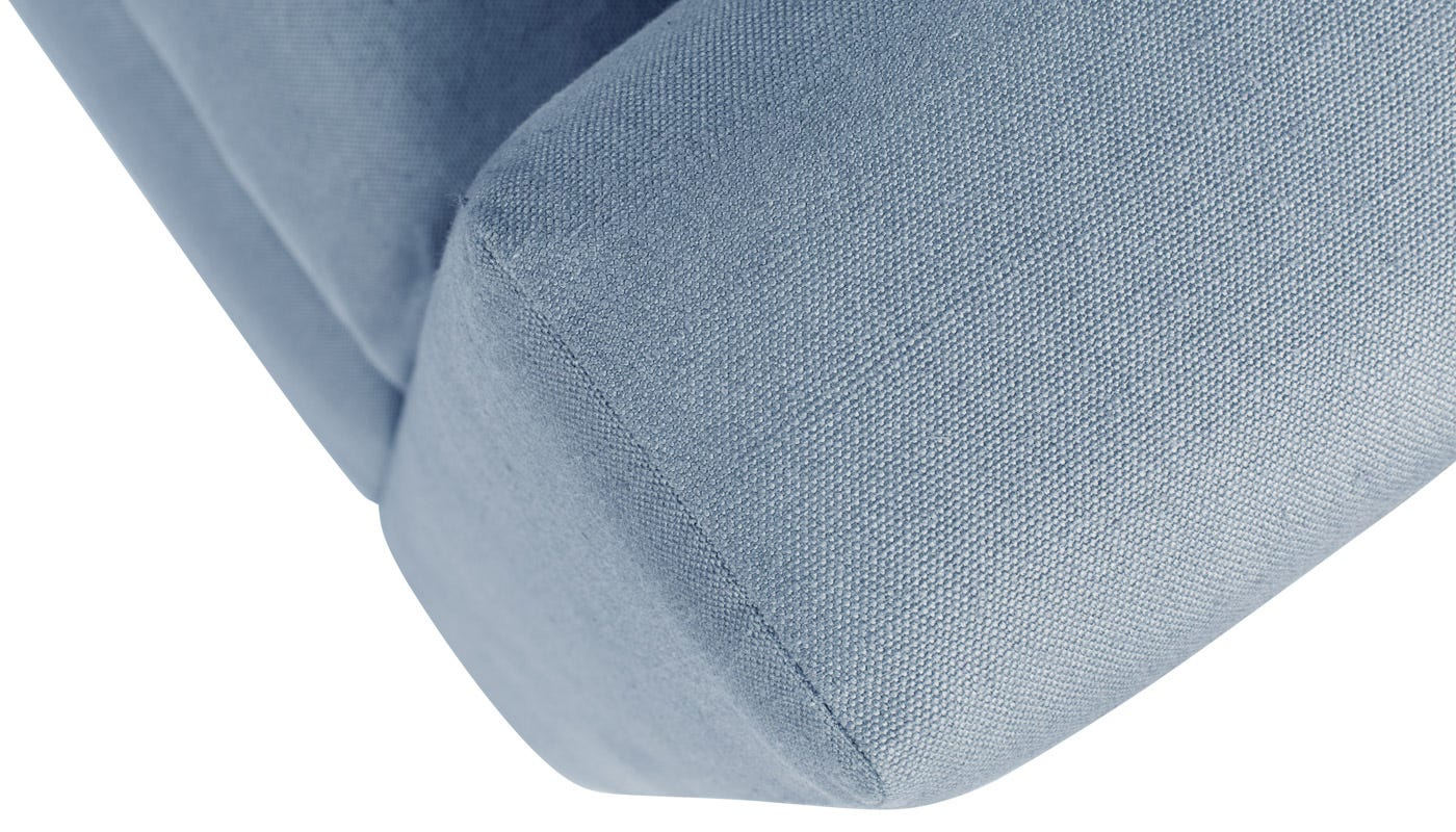 in Capelo Linen-Cotton Mineral with Black Feet