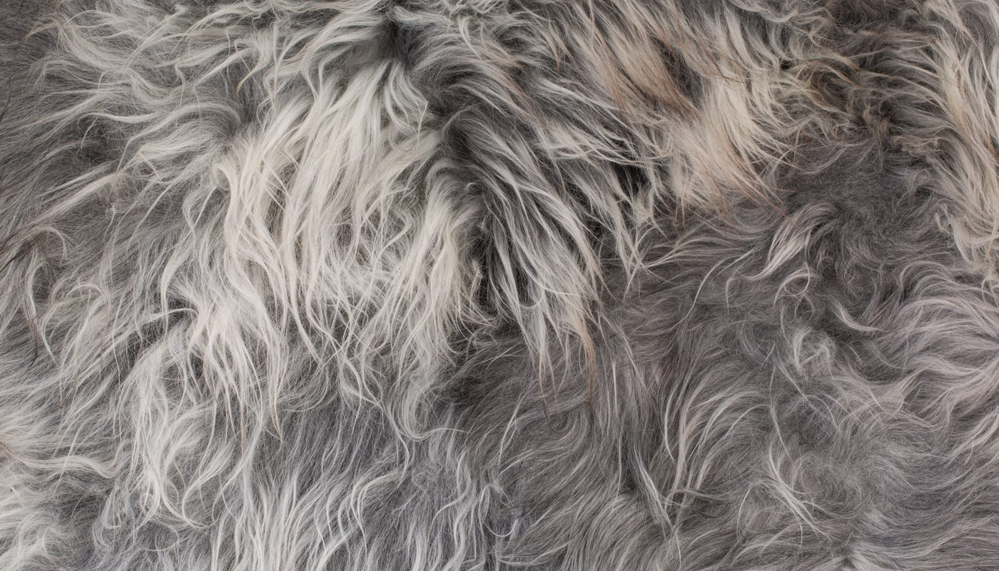 just some of the textures you can expect from all three colour ways (Natural Grey shown)