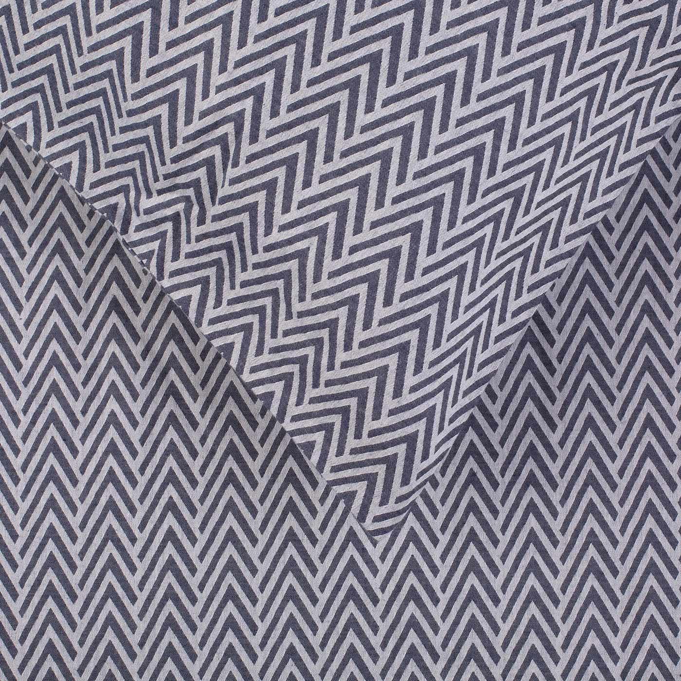 Gray Herringbone Coverlet : Herringbone navy grey king duvet cover