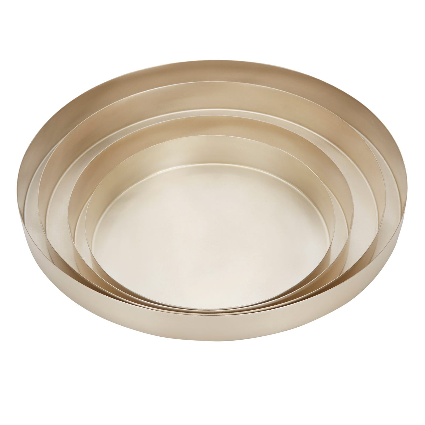Tom dixon orbit trays in silver discontinued heal s for Bespoke canape trays