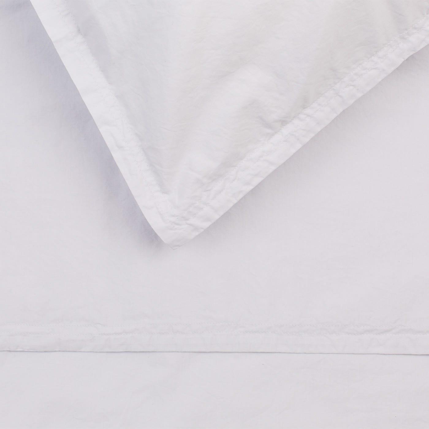 Washed Cotton Soft Grey Pillowcase