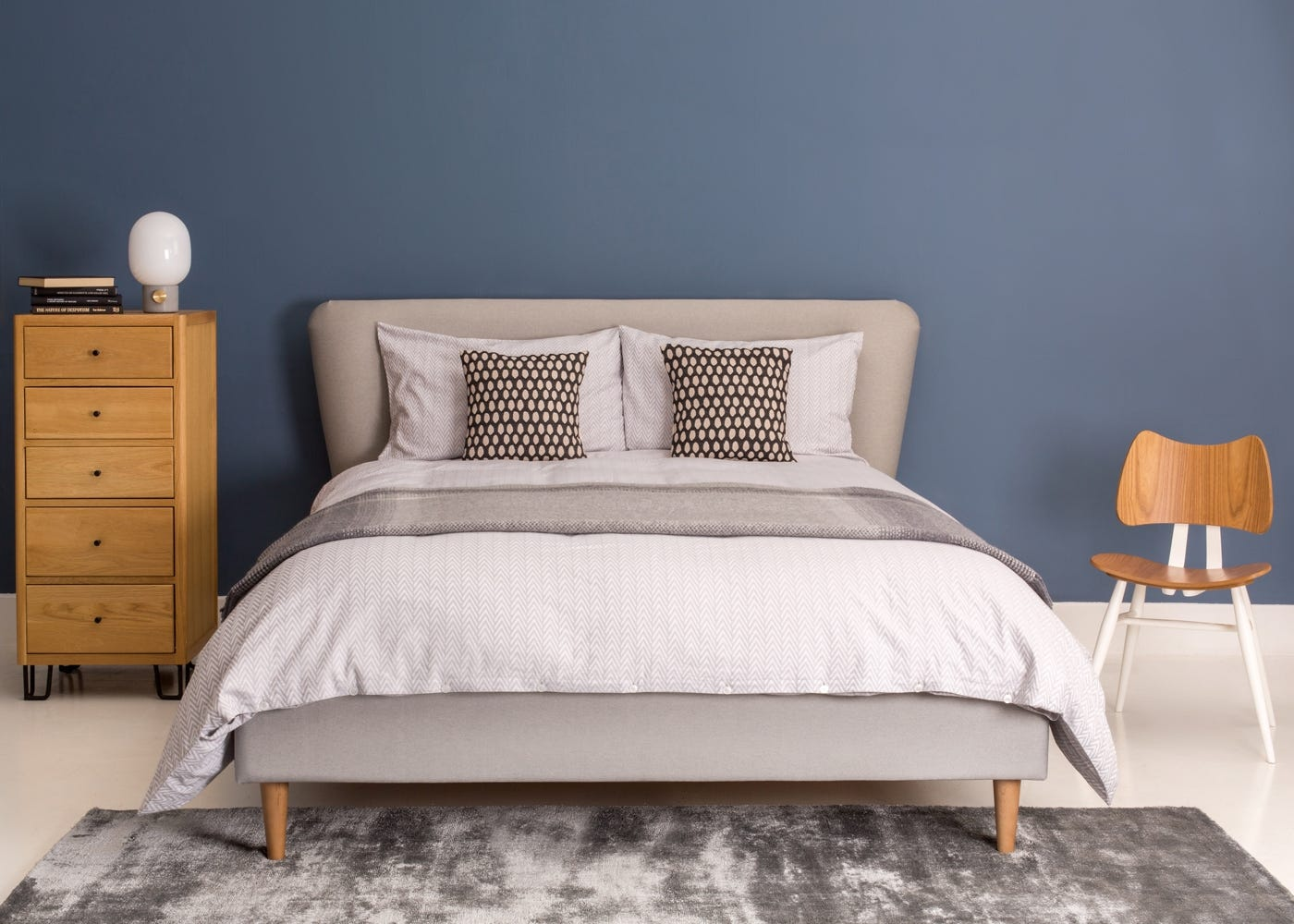 in Polyester Mix Light Grey
