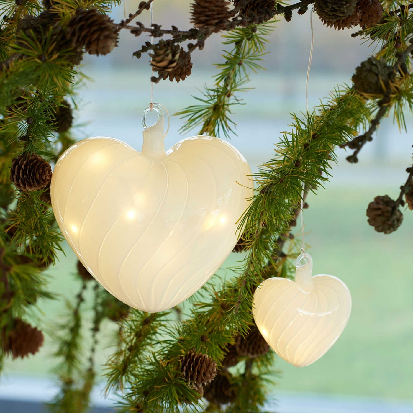 Heaven Hanging Light Heart