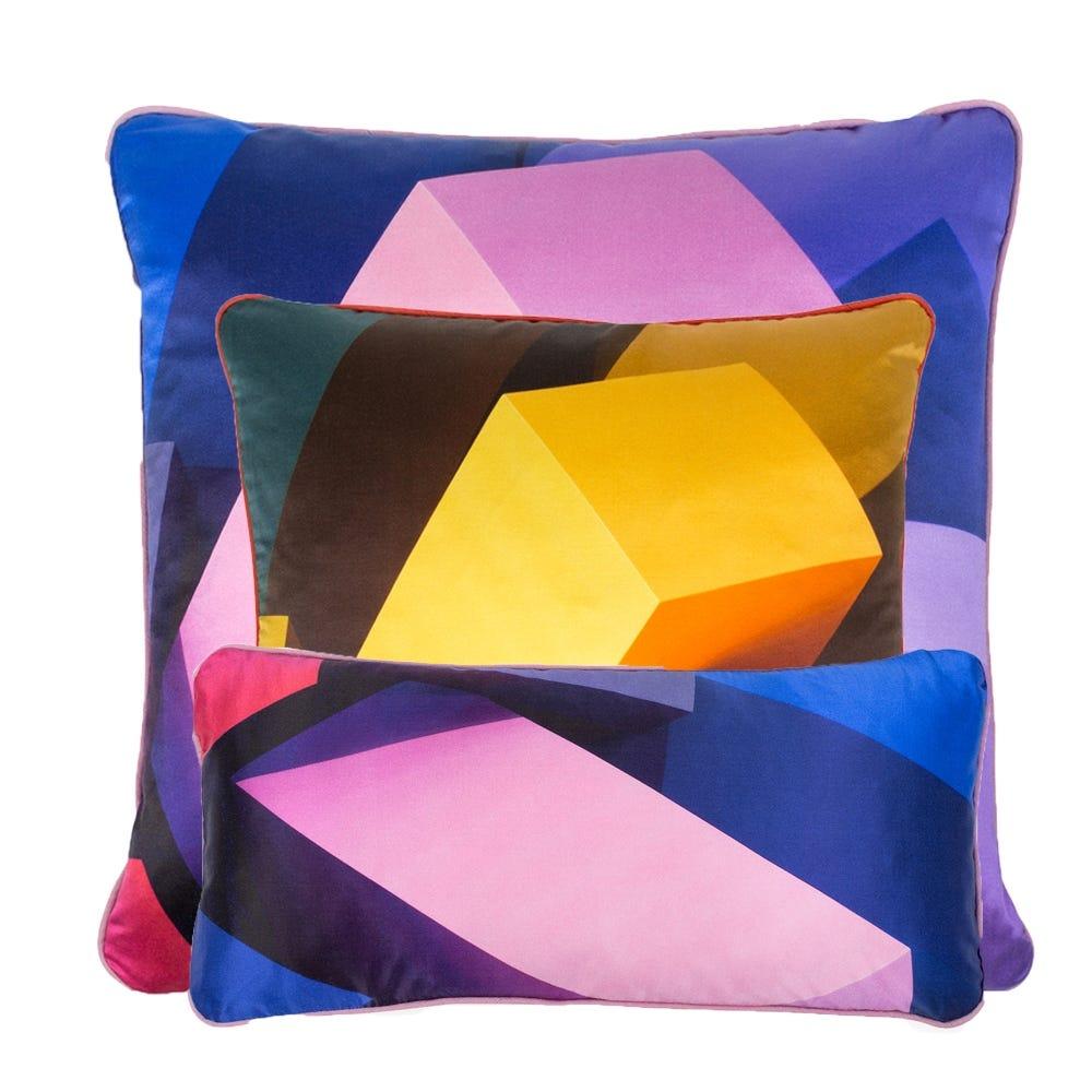 Colour Block Cushion