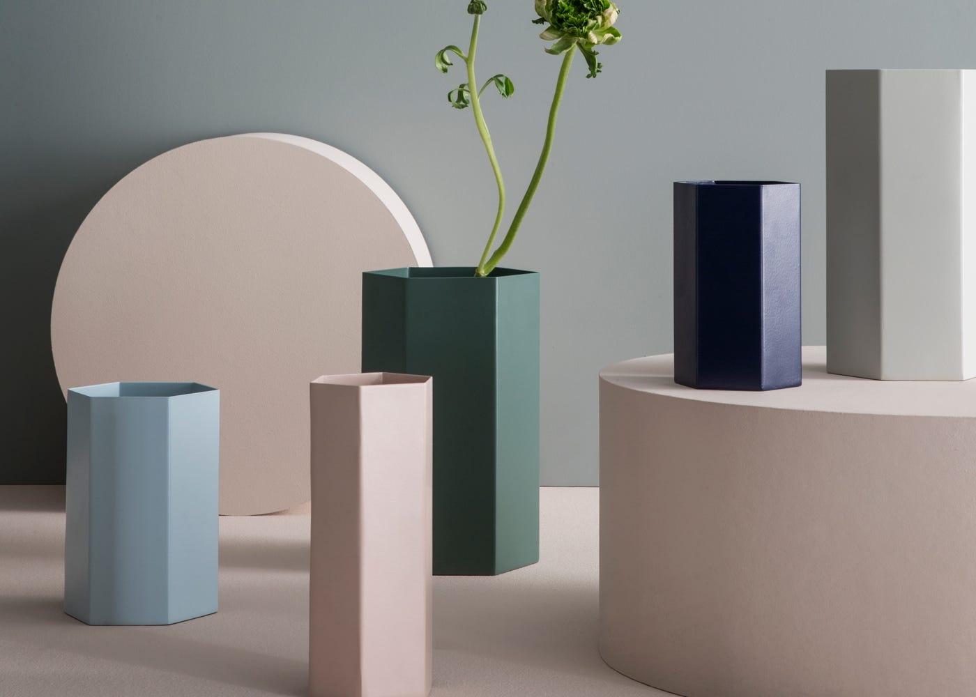 Hexagon Vases by Ferm Living