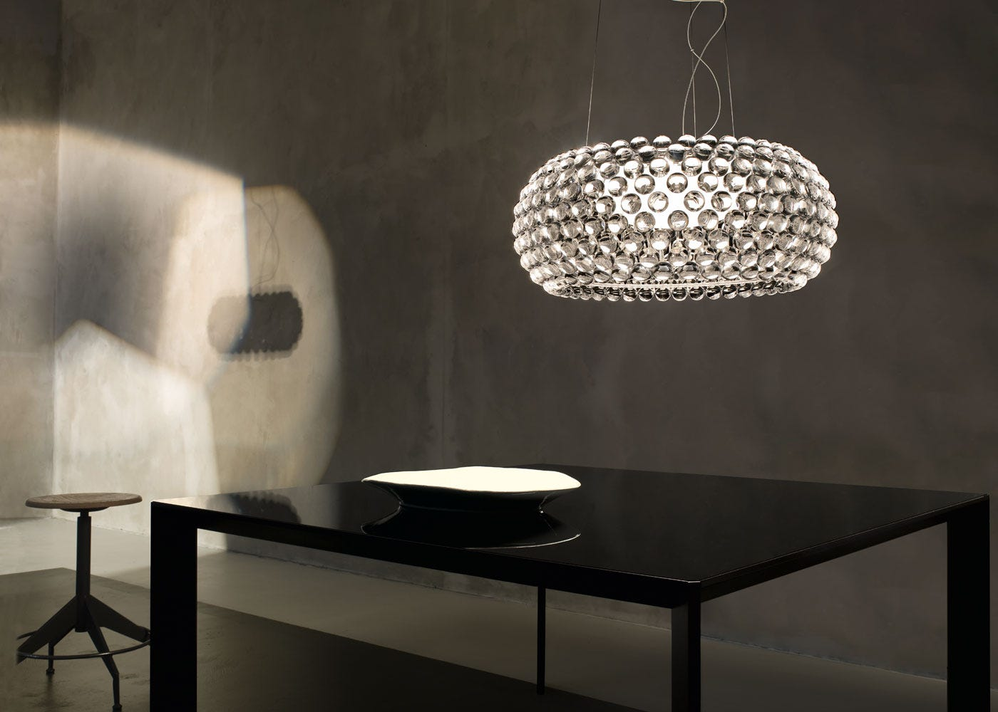 As Shown: Caboche Pendant Light Large.