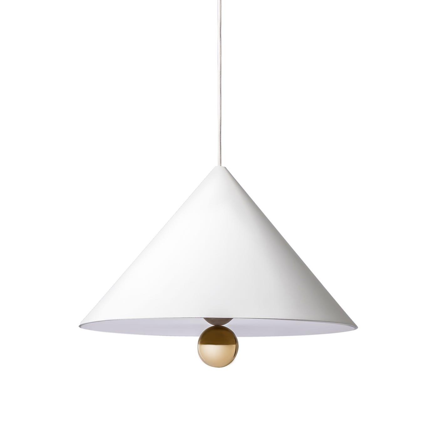 Cherry Pendant Lamp White