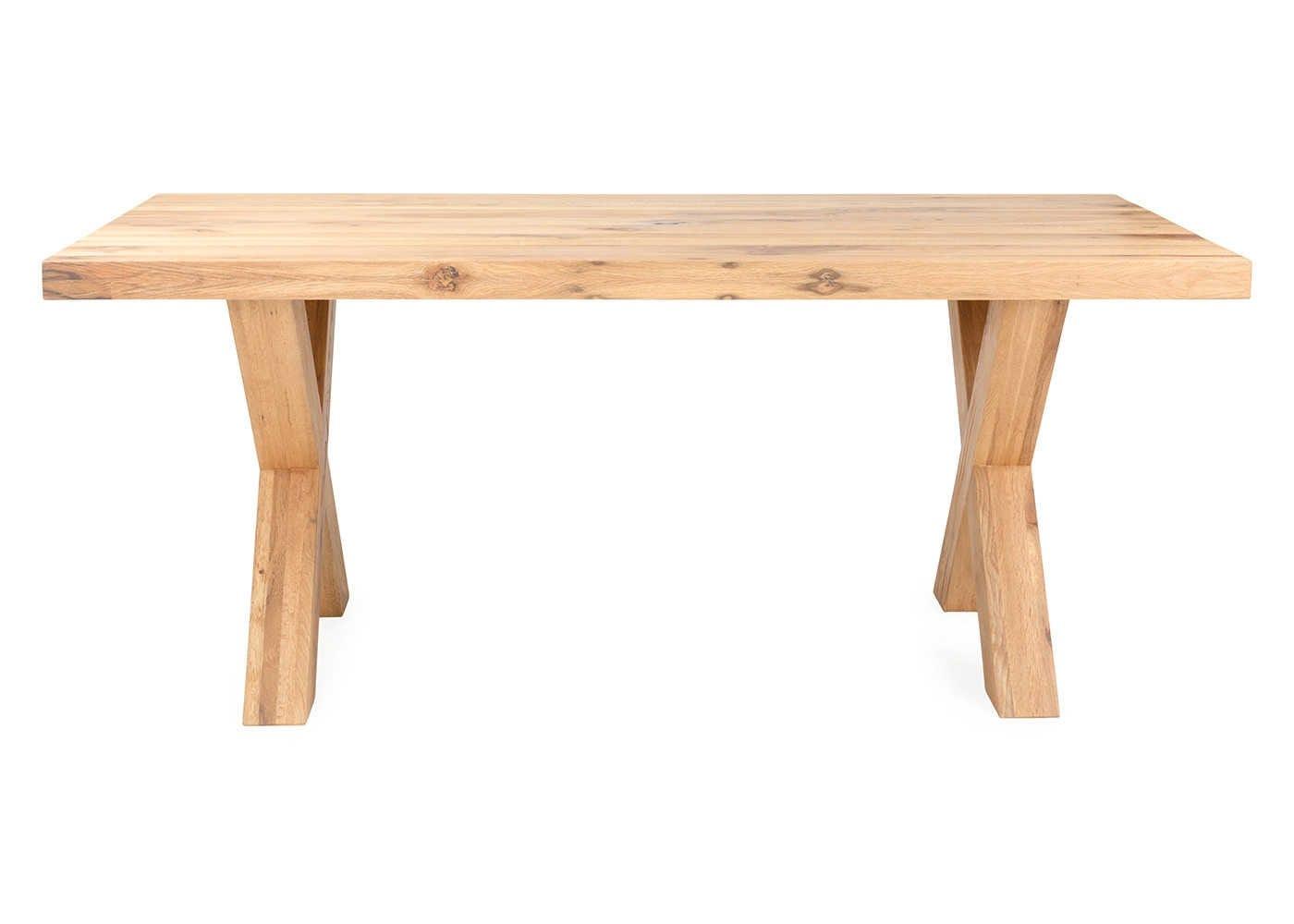 Trentino Table in Natural Oak