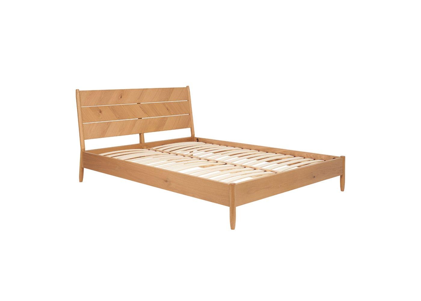 As Shown: Monza Oak Bed