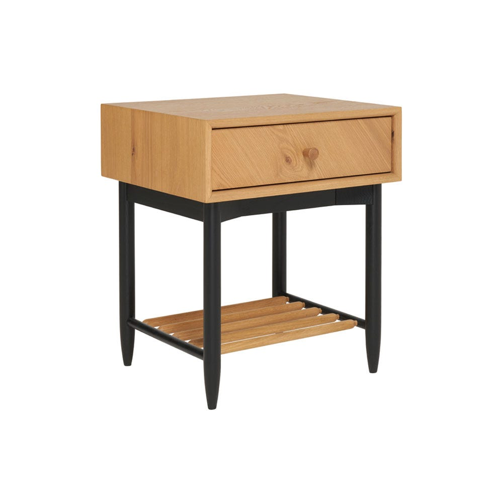Monza 1 Drawer Bedside Cabinet