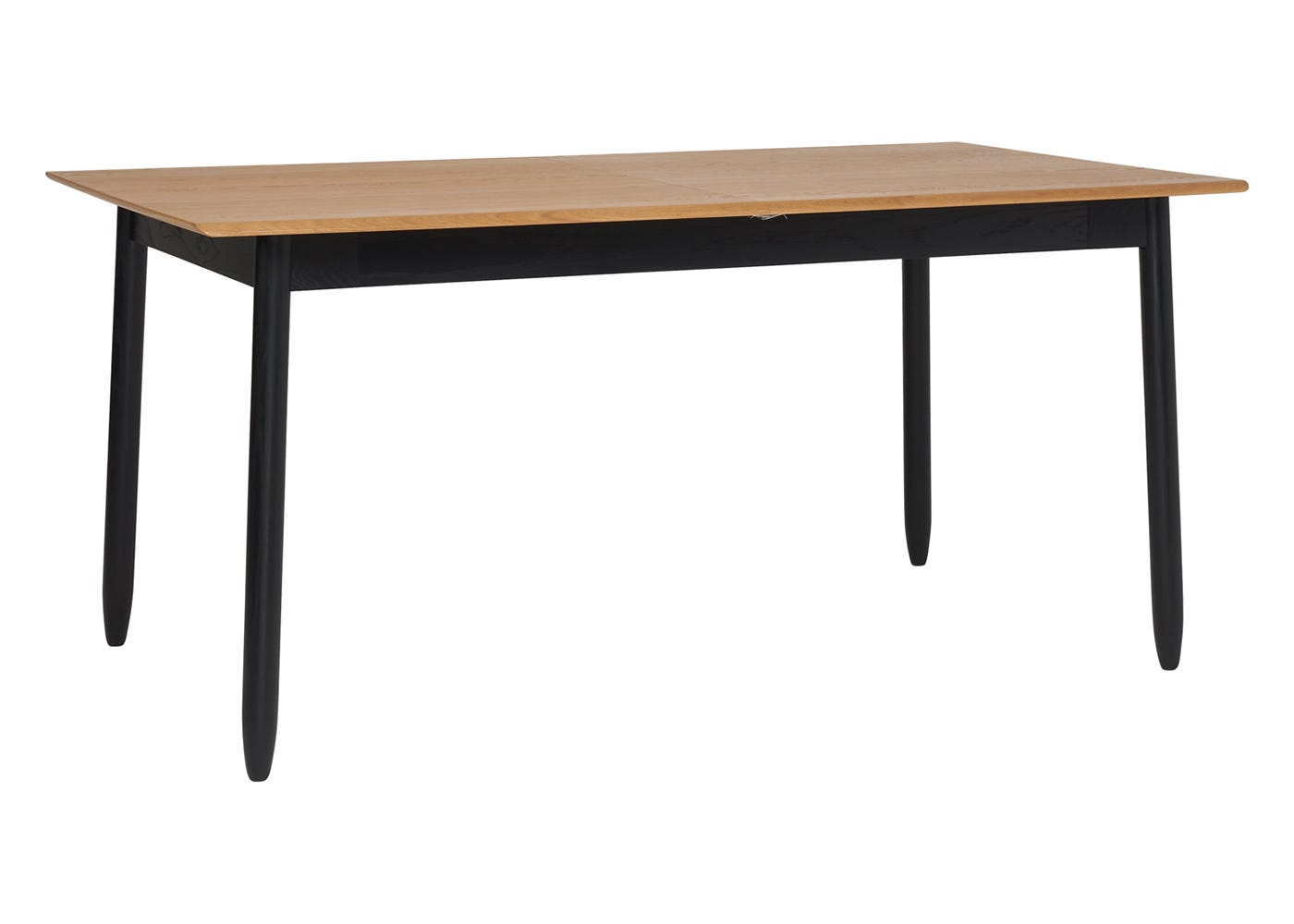Monza Dining Table - Corner View - Not Extended