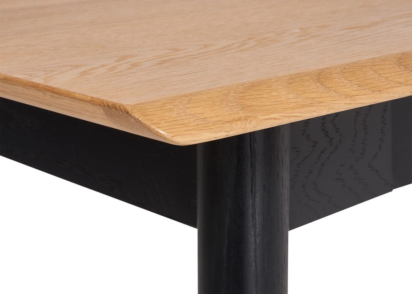 Monza Dining Table - Detail View - Not Extended