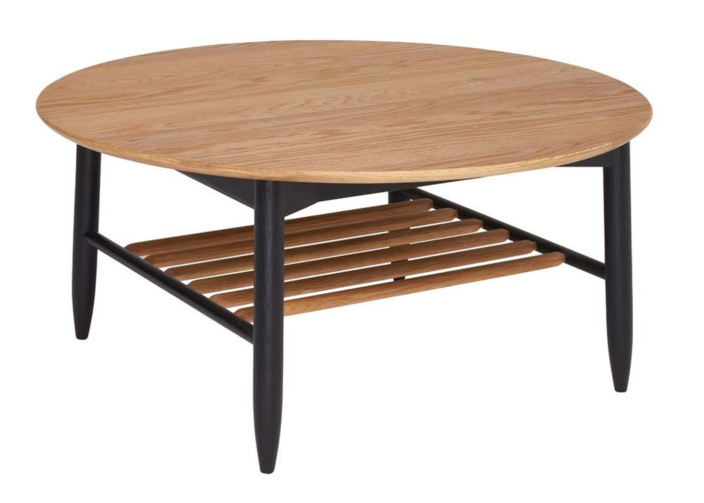 Monza Round Coffee Table - Angle View