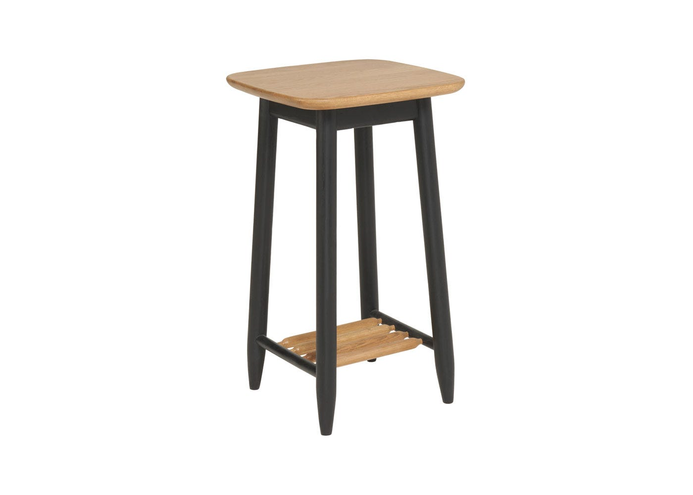 As shown: Monza compact side table.