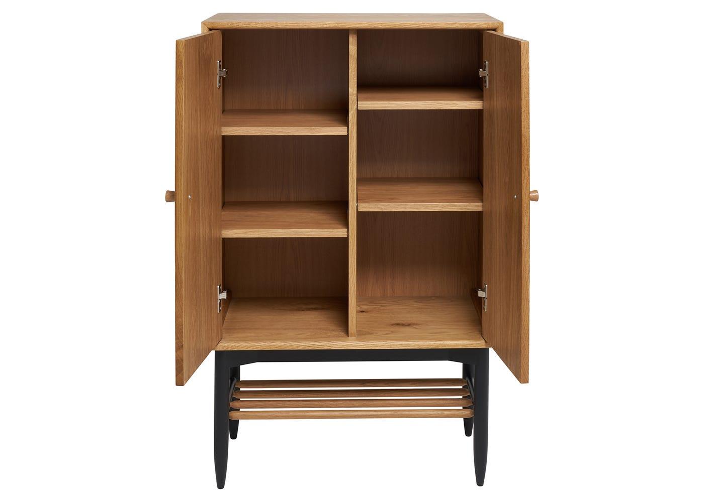 Monza Universal Cabinet - Open View