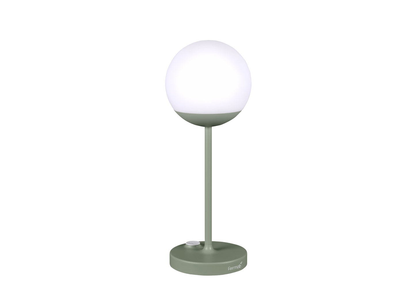 As shown: Mooon outdoor table lamp cactus finish.