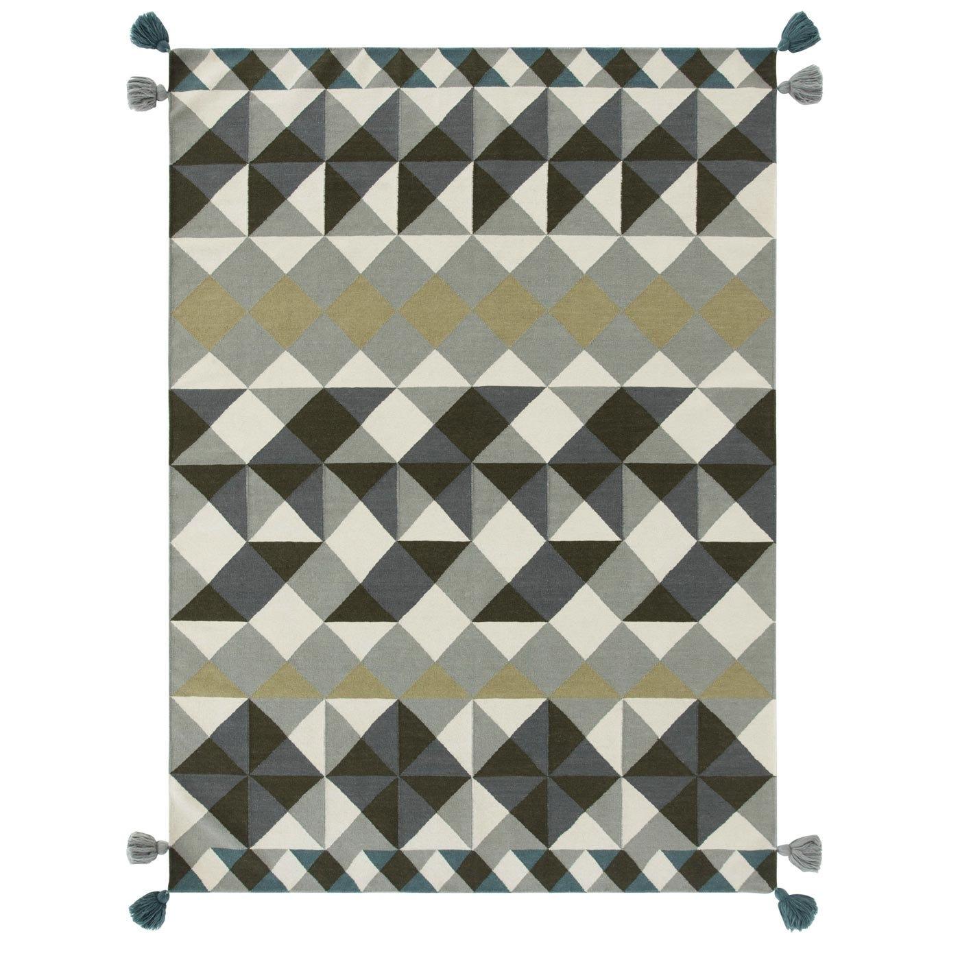 Mosaiek Kilim Rug Grey