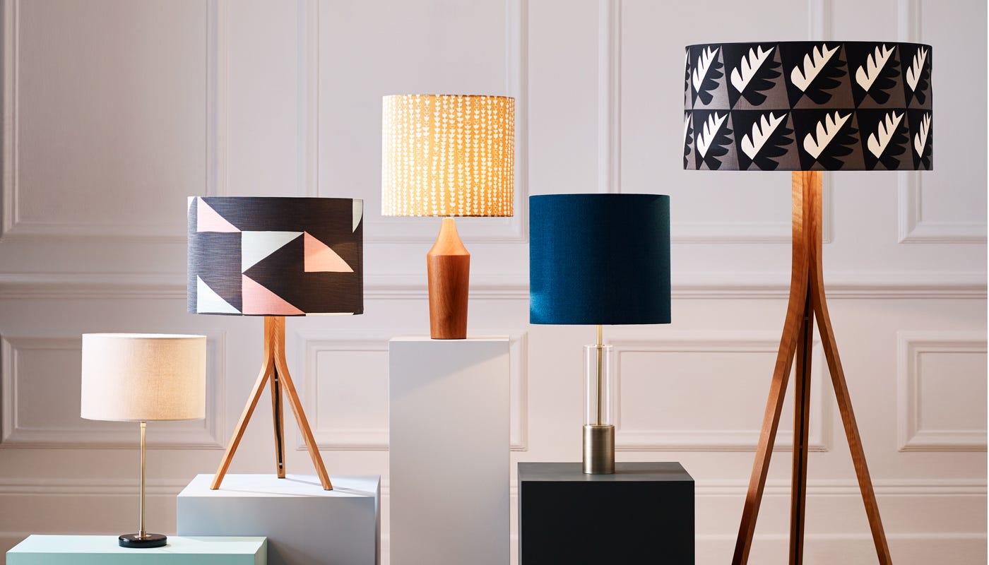 Orange and turquoise lamp shade - Orange And Turquoise Lamp Shade