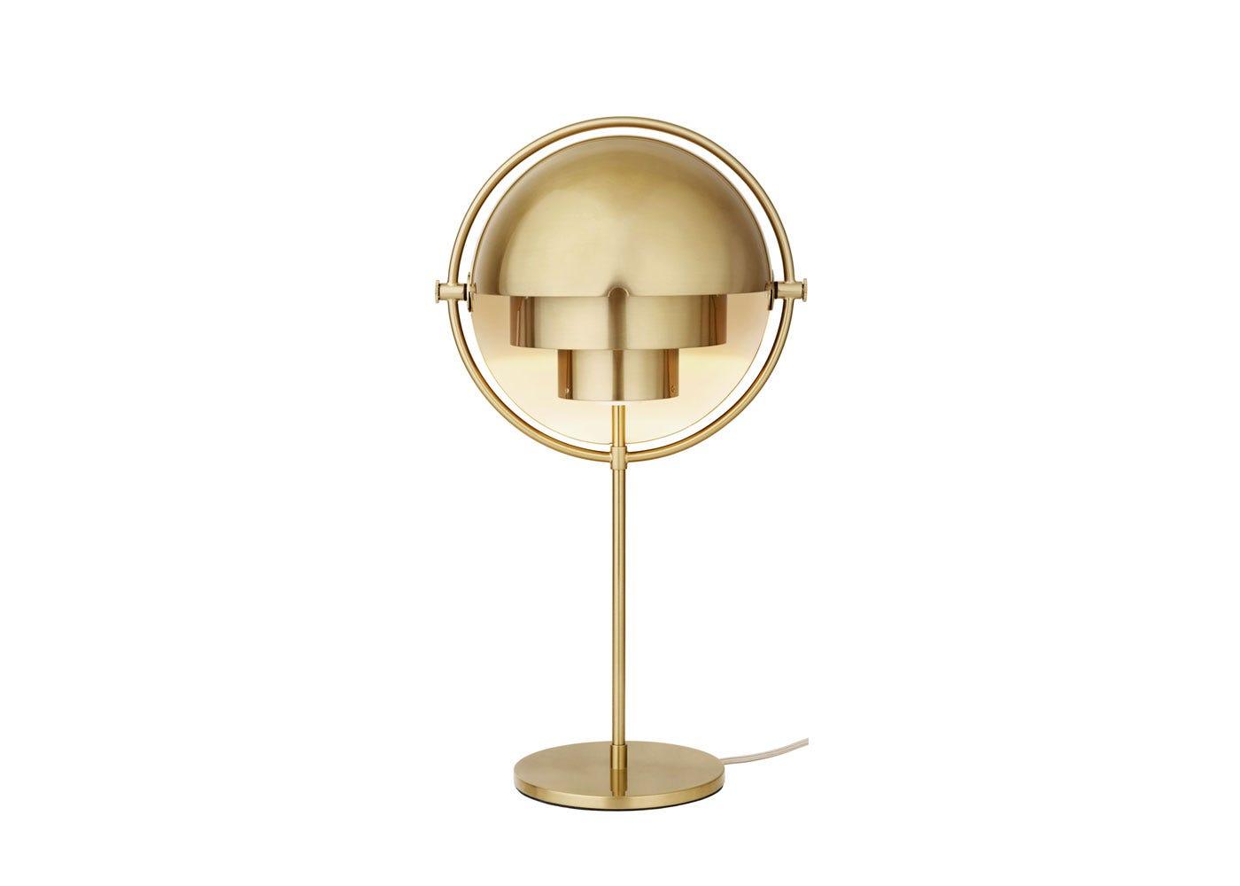 Picture of: Gubi Multi Lite Table Lamp Brass Base Heal S Uk