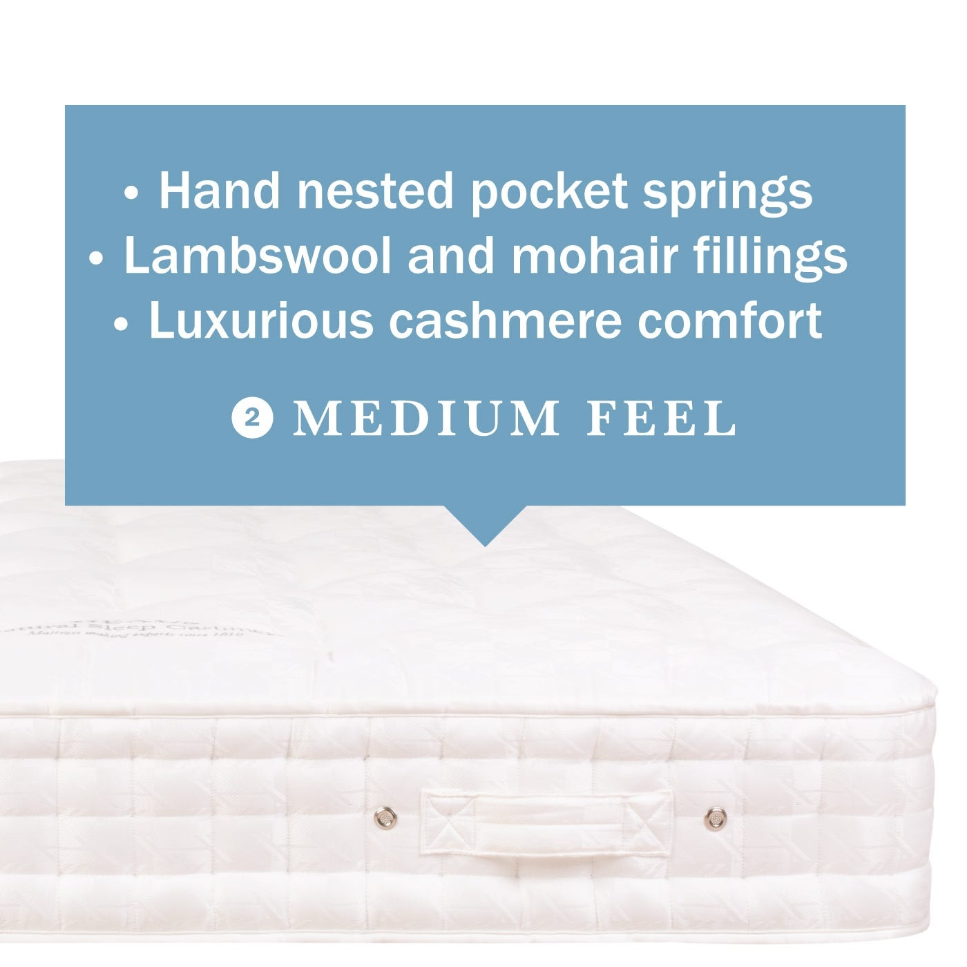 Natural Sleep Cashmere Mattress