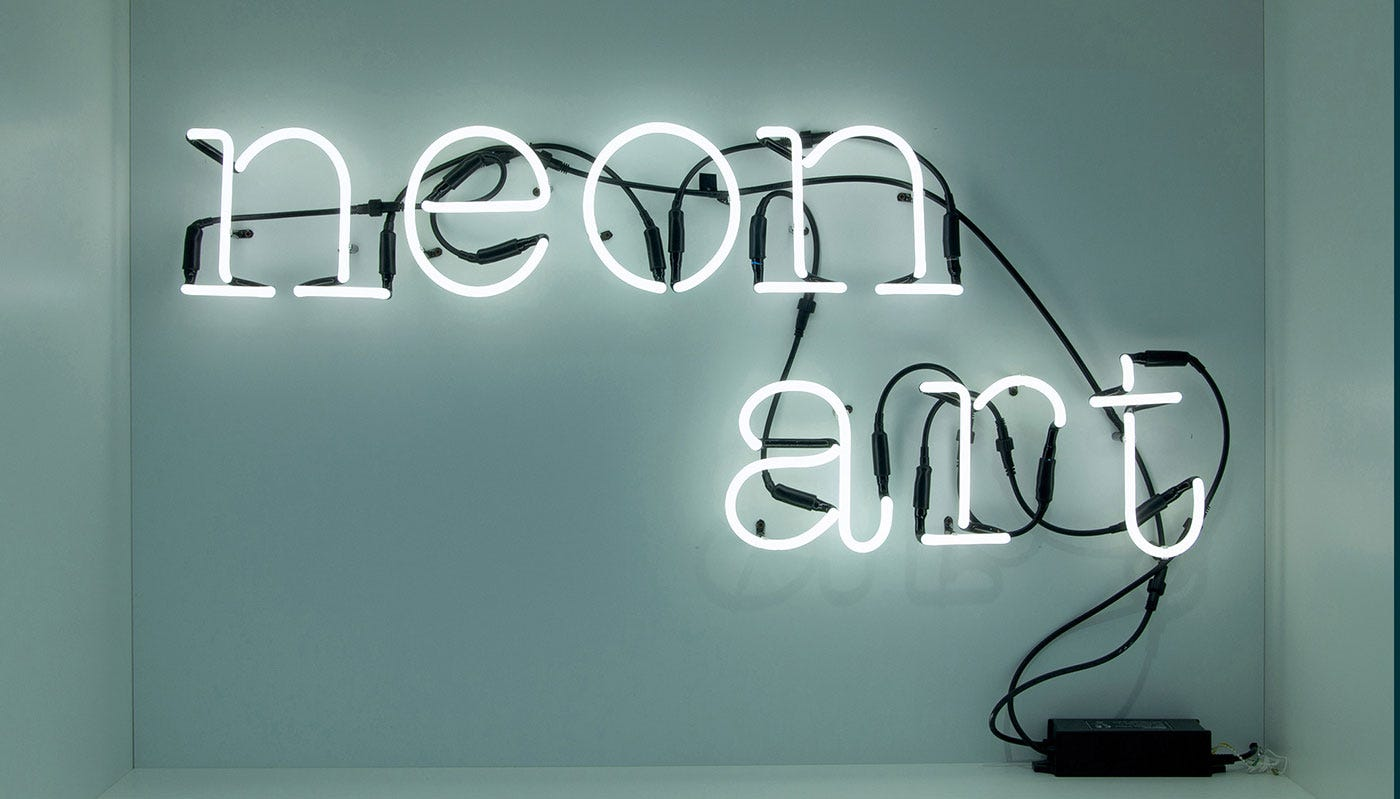 Seletti neon font wall light discontinued heals aloadofball Image collections