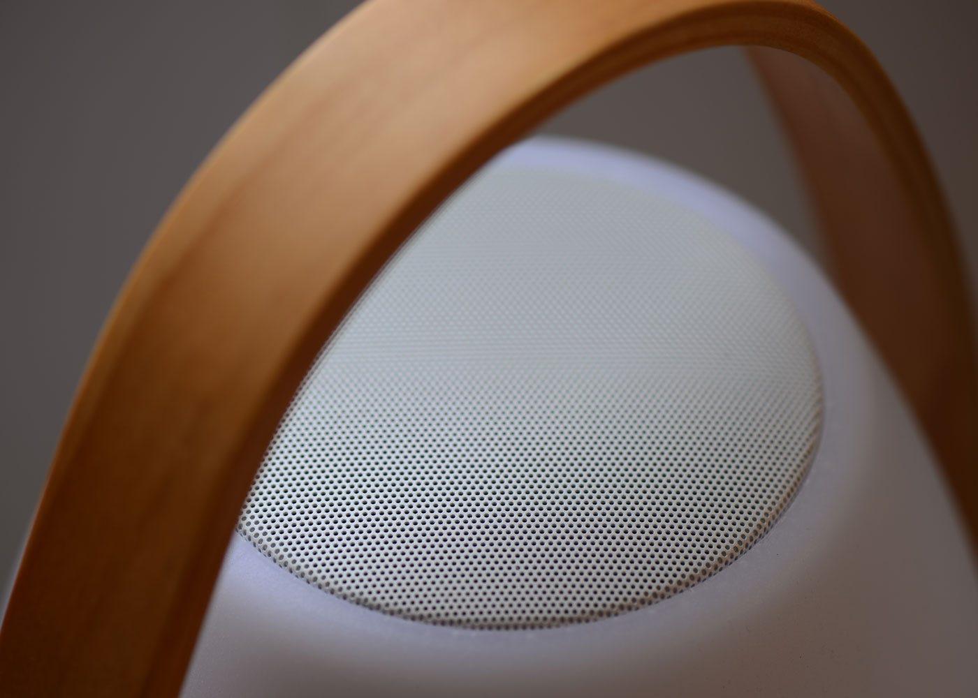 Integrated speaker.