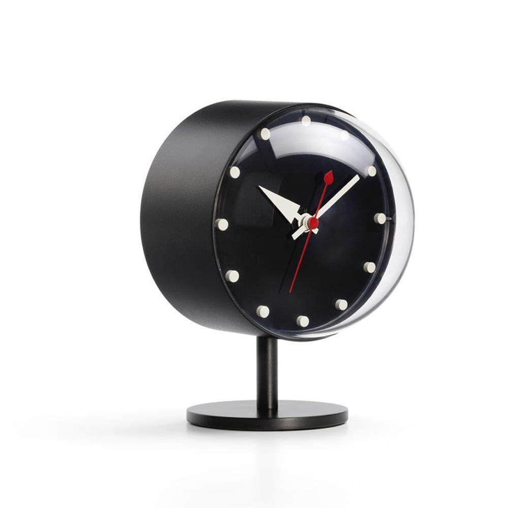 Night Desk Clock in Black