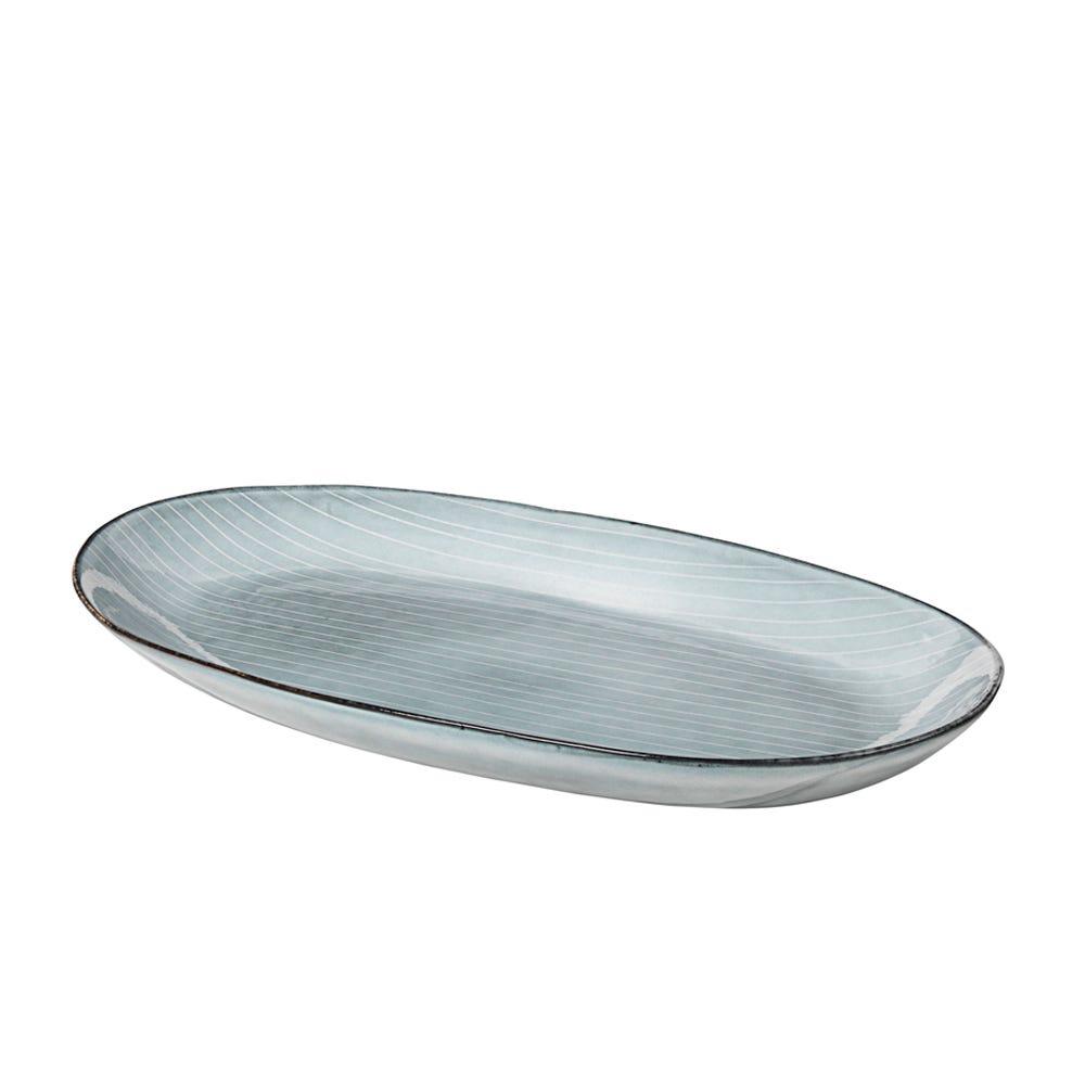 Nordic Sea Oval Plate Large
