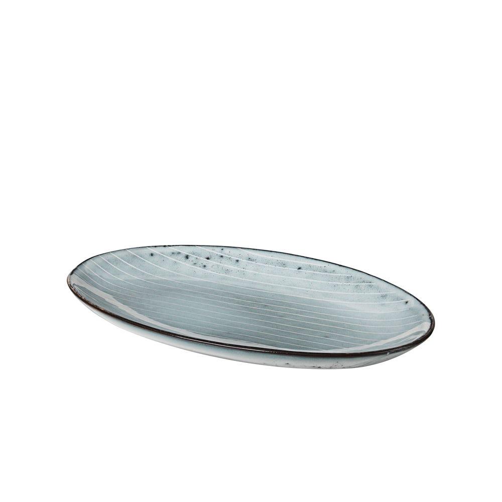 Nordic Sea Oval Plate Small