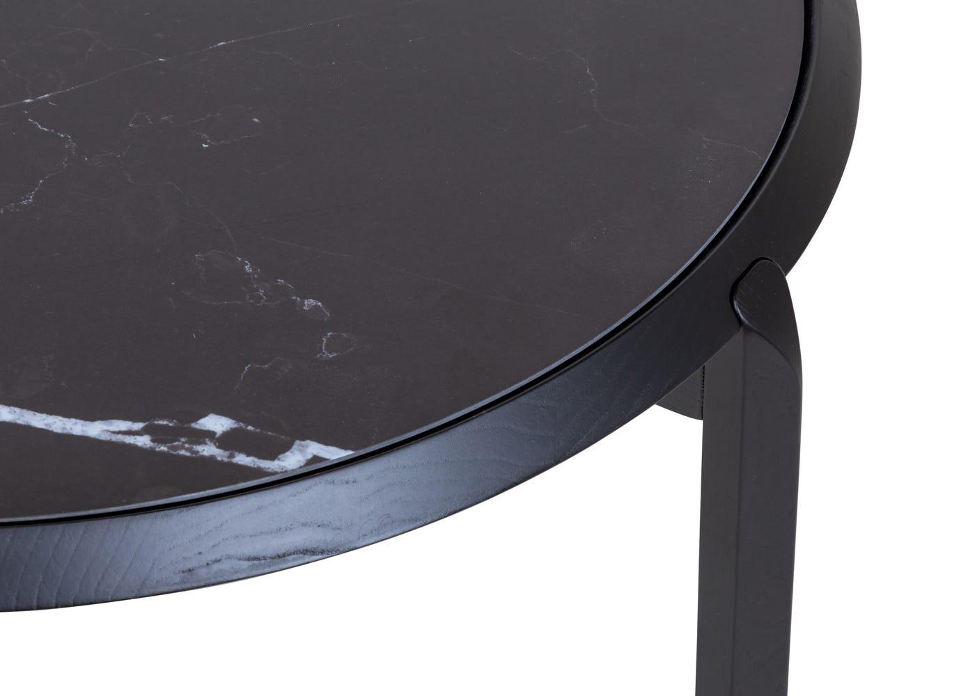 Black porcelain top.