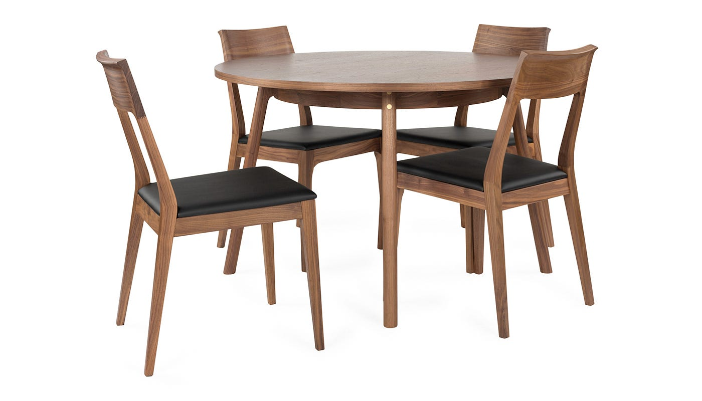 Heal 39 S Novak 4 Seater Round Dining Table Discontinued Heal S