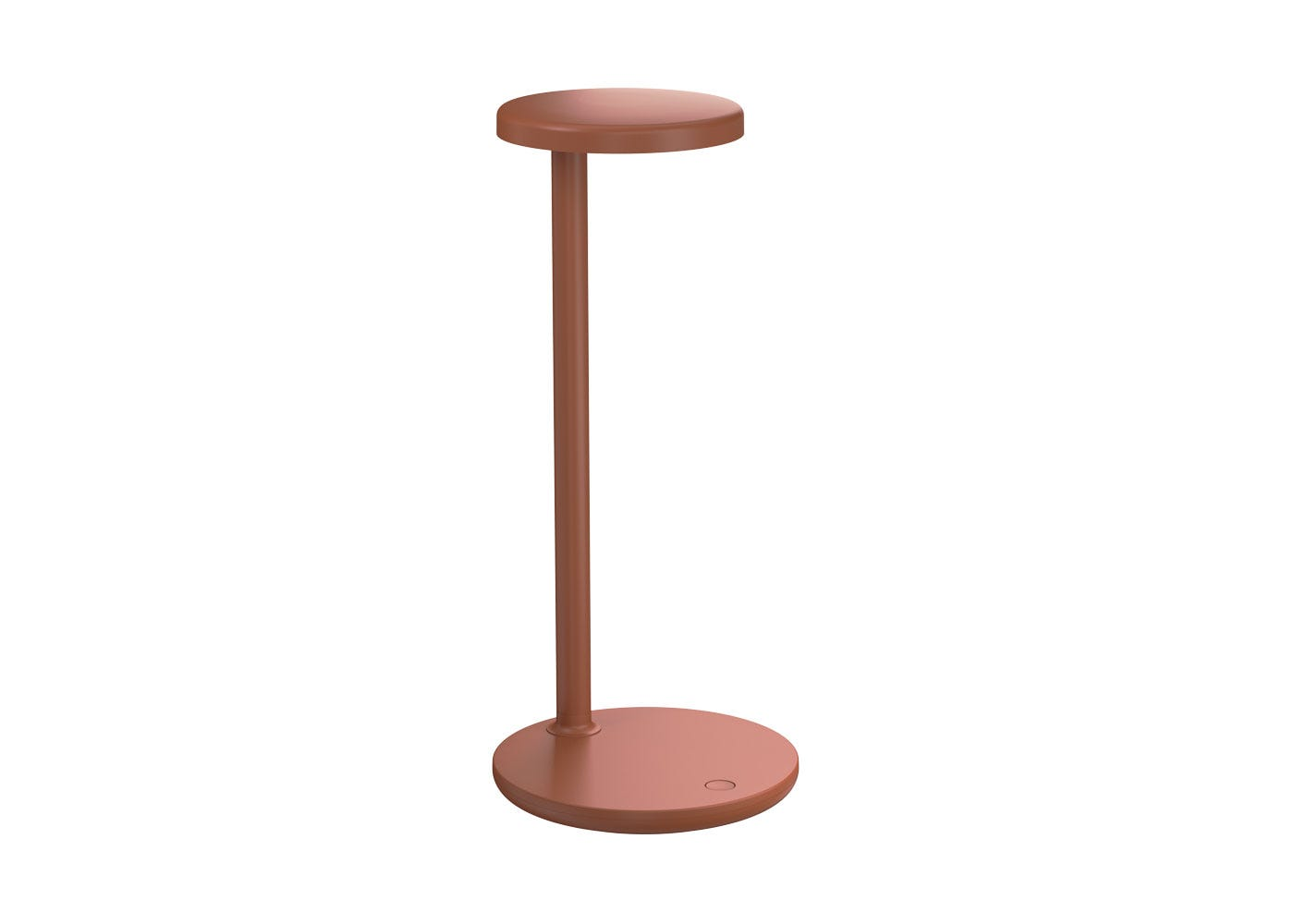 Oblique Table Lamp Matt Rust