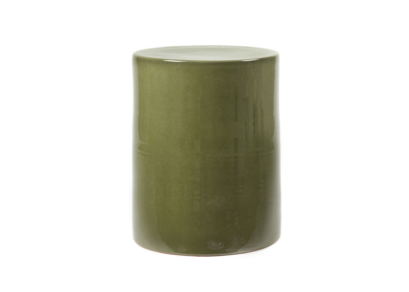 As shown: Pawn side table in green.