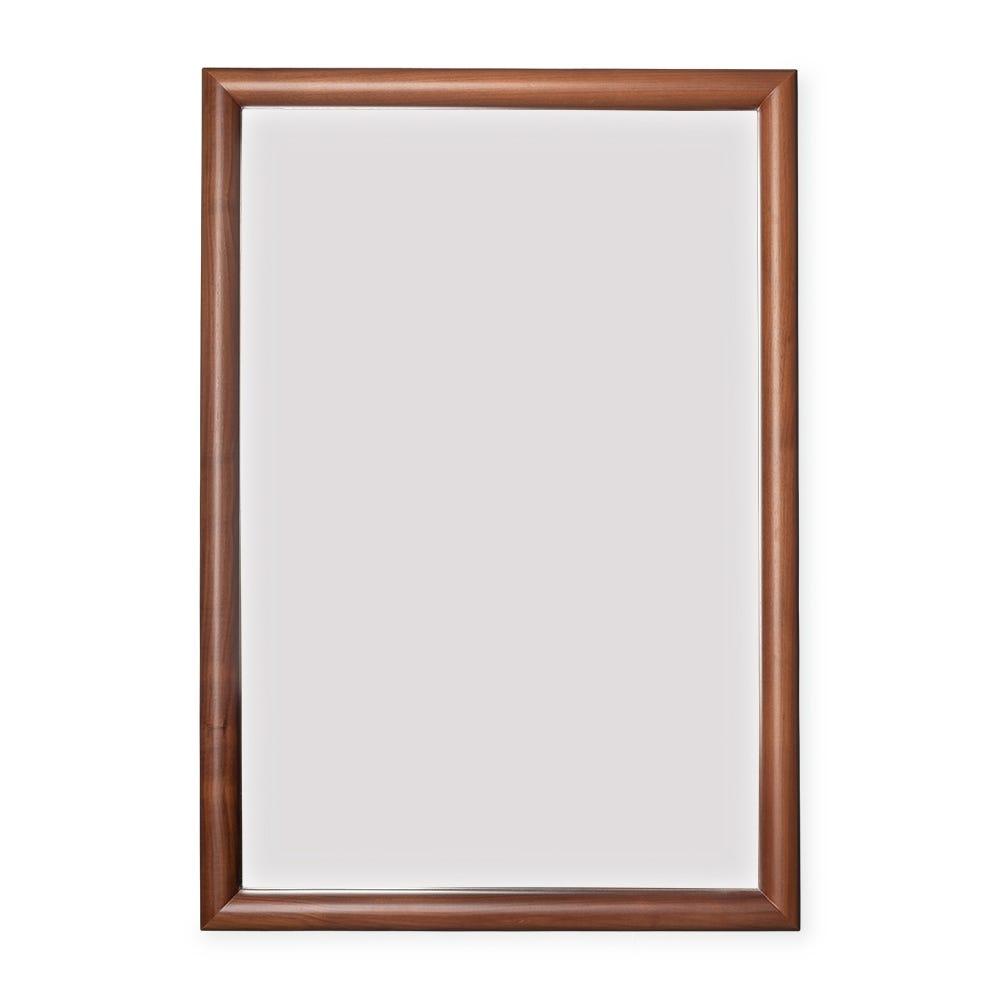 Pembroke Wall Mirror with Walnut Frame
