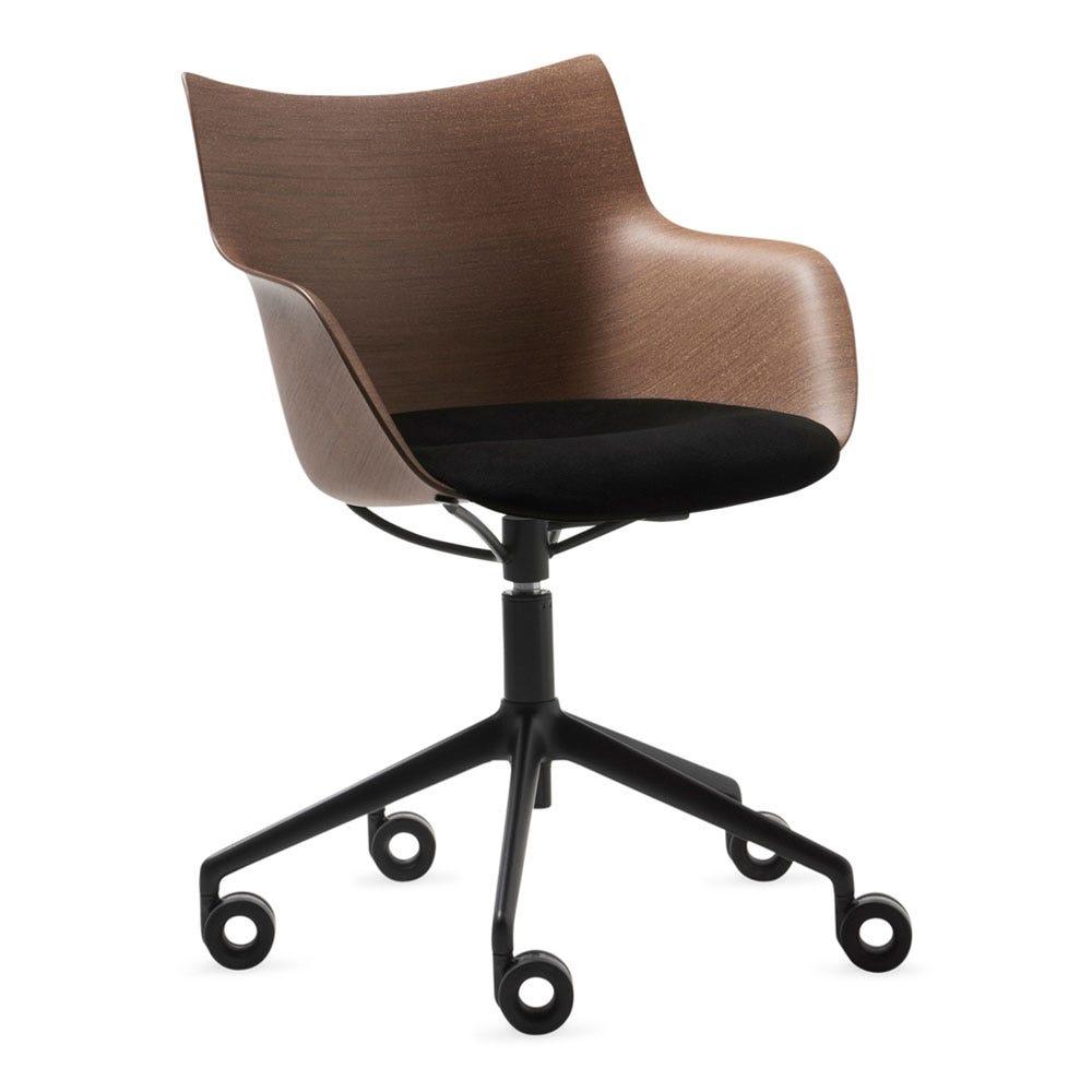 Q Wood 3D Swivel Chair