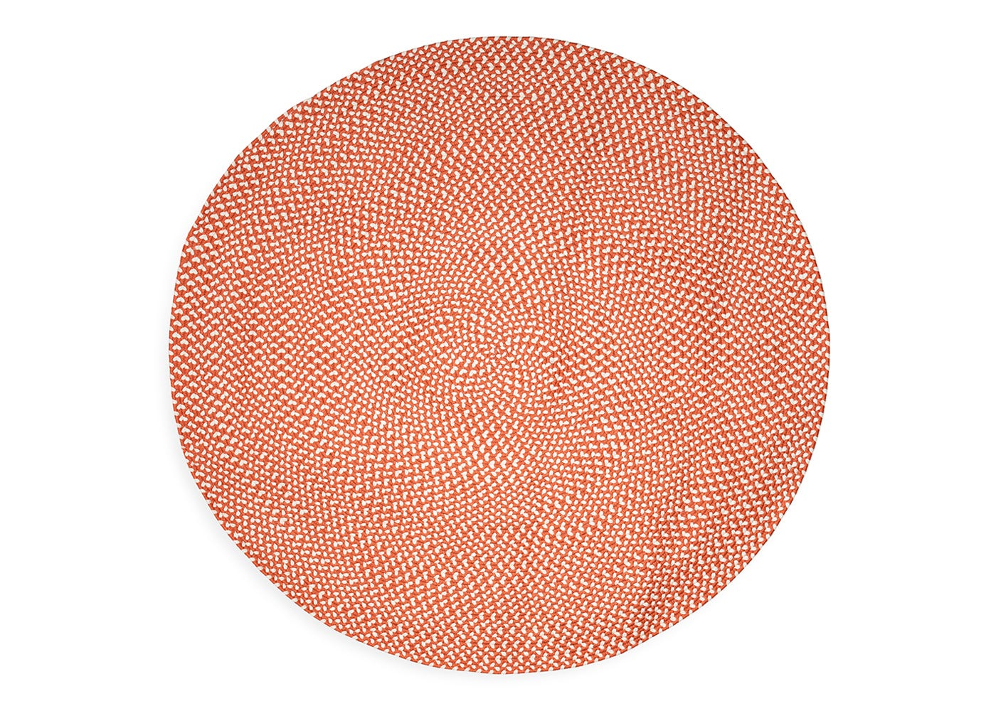 Recycled Round Rug Rust Heal S